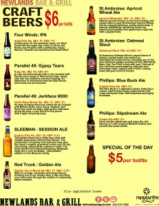 Craft Beer special