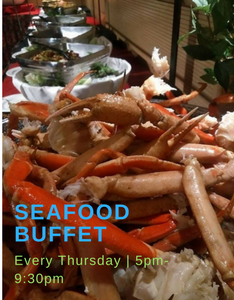 Seafood buffet 2014