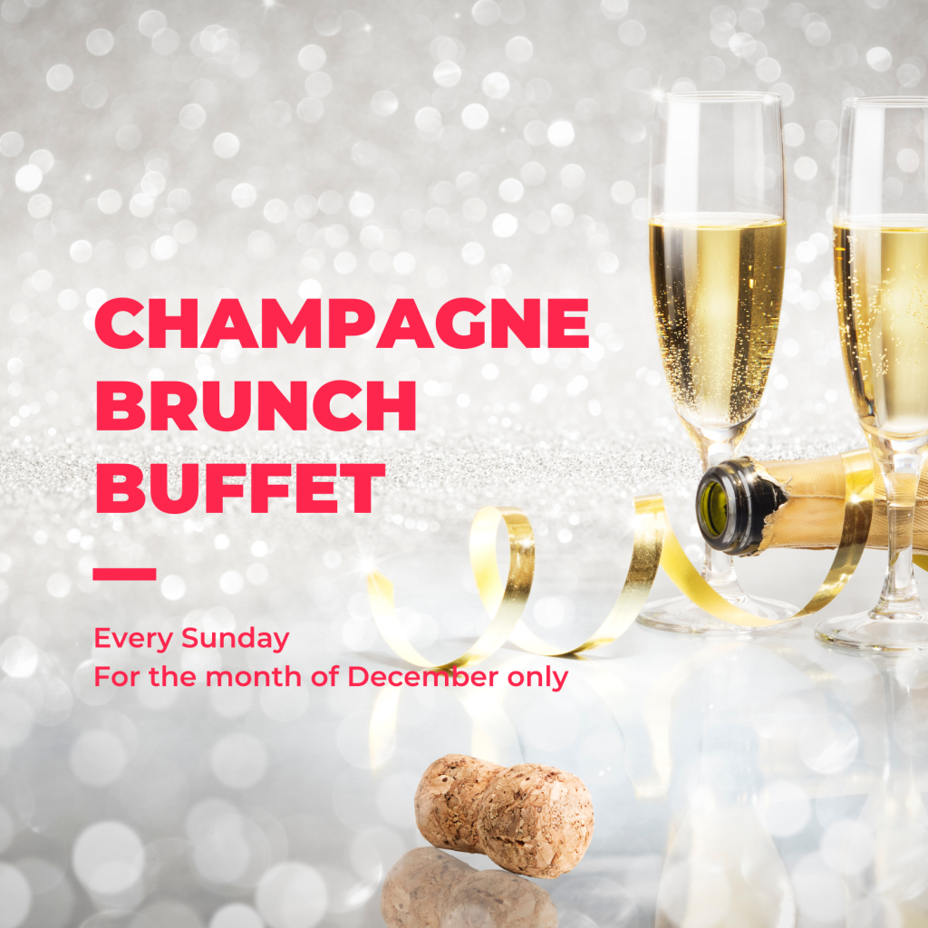 Champagne Brunch Christmas Buffets