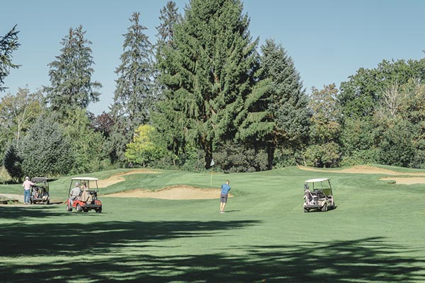 players on the fairway at Newlands Golf